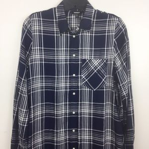 Express Plaid Duster